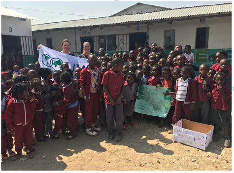 Lus-ycling: Teaching Children in Zambia About The Environment